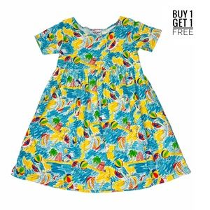 Flap Happy Girls By the Seashore Cotton Dress 6